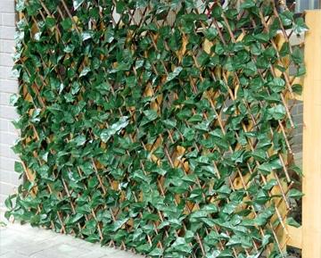 ПВХ Решетки с искусственными листьями